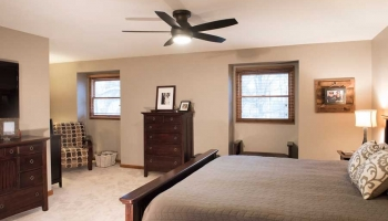 Expanded Master Bedroom Space