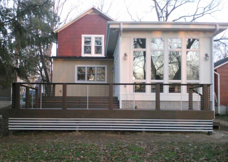 After - Modern Addition and Composite Deck