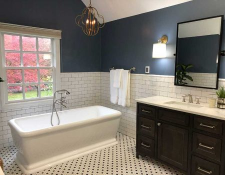 After - Beautiful Free-Standing Soaking Tub