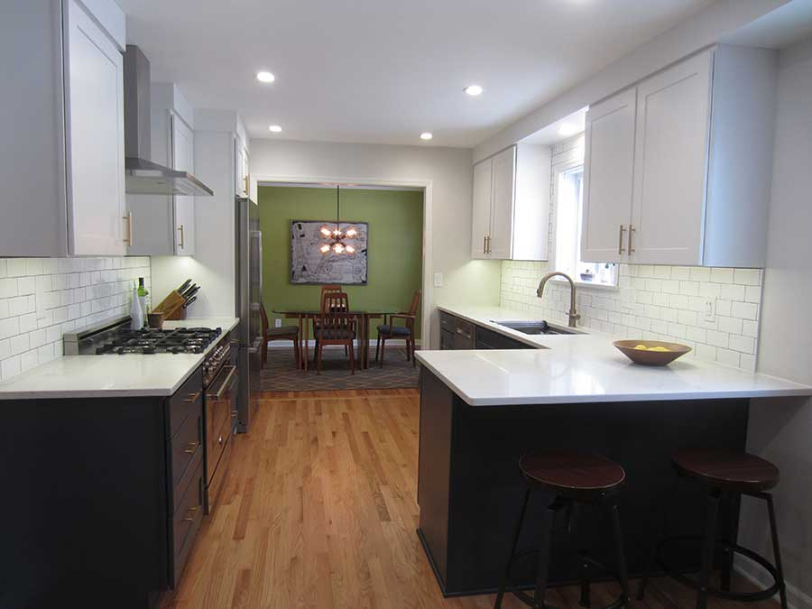After - Beautiful Modern Kitchen Remodel