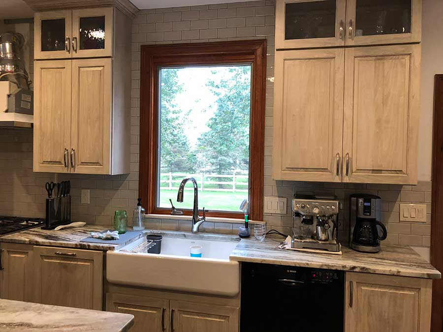 After - Updated & Expanded Kitchen