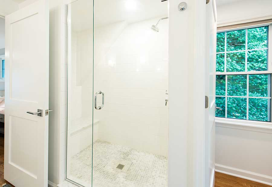 After - Interior - Glass Step-In Shower