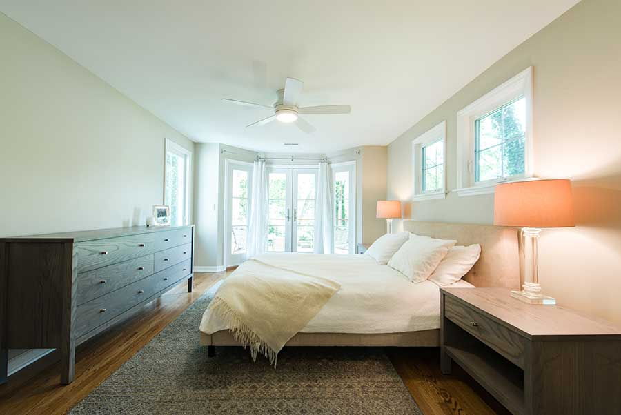 After - Interior - Larger and Brighter Master Bedroom