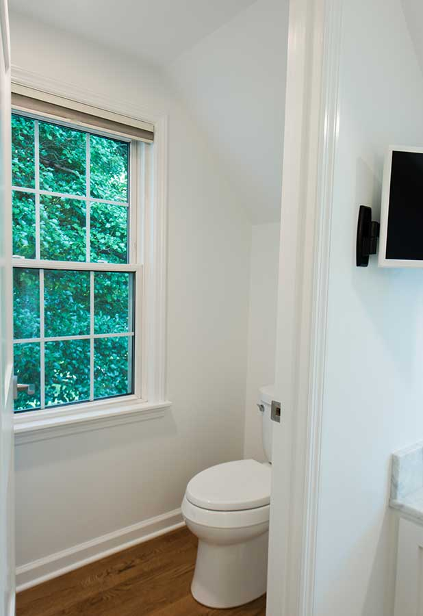 After - Interior - New Water Closet