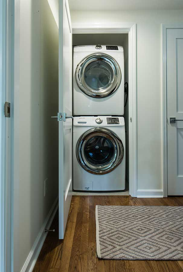 After - Interior - Second Floor Closet Converted into Laundry SpaceJPG