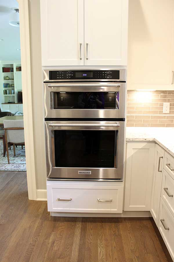 After - KitchenAid Microwave Oven Wall Unit