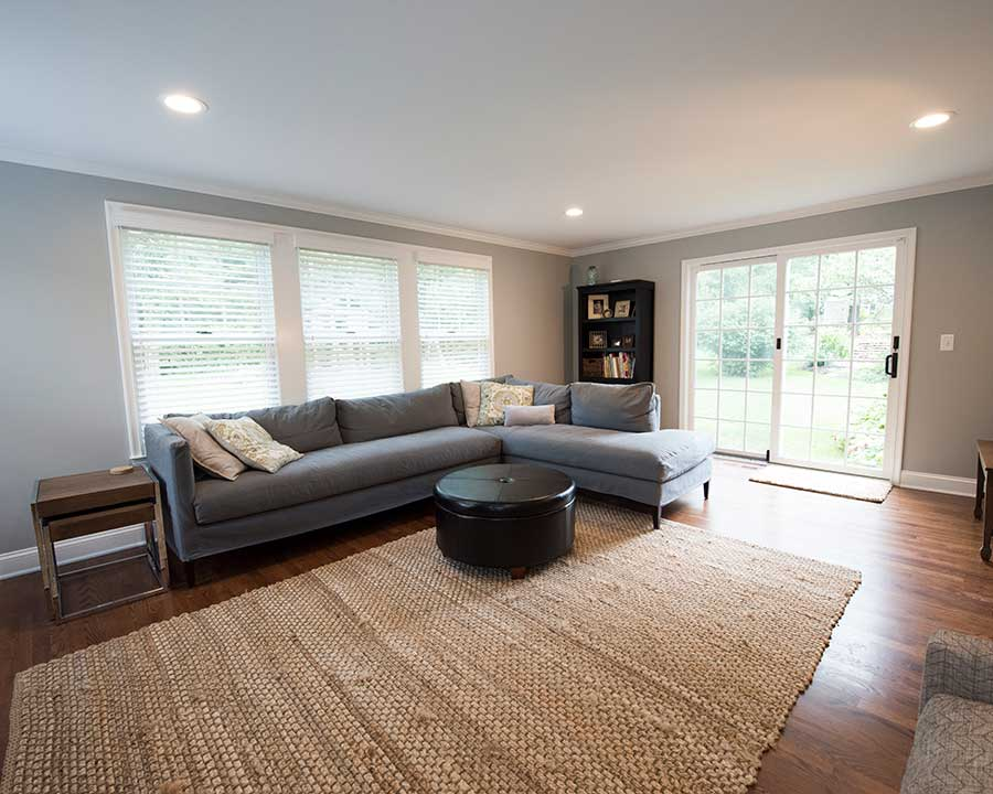 After - New Family Room Space