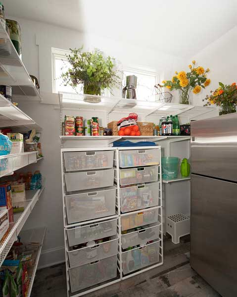 After - New Pantry Space