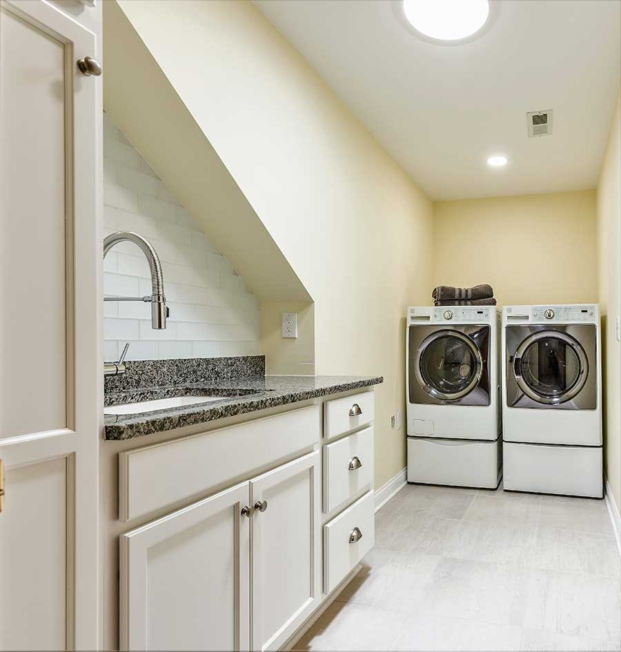 After Relocated Laundry Room To Second Floor