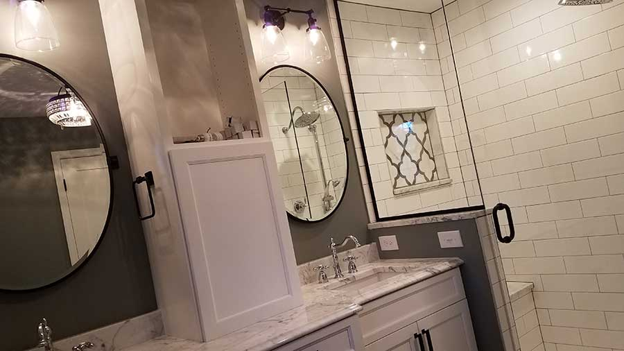 After - Remodeled Master Bathroom