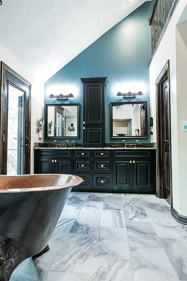 After - Updated Master Bathroom