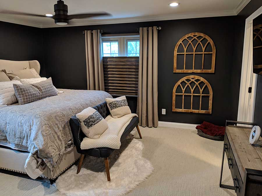 After - Updated Master Bedroom
