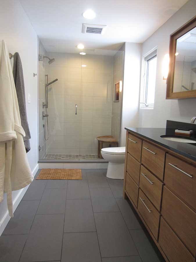 After - Updated Master Bath