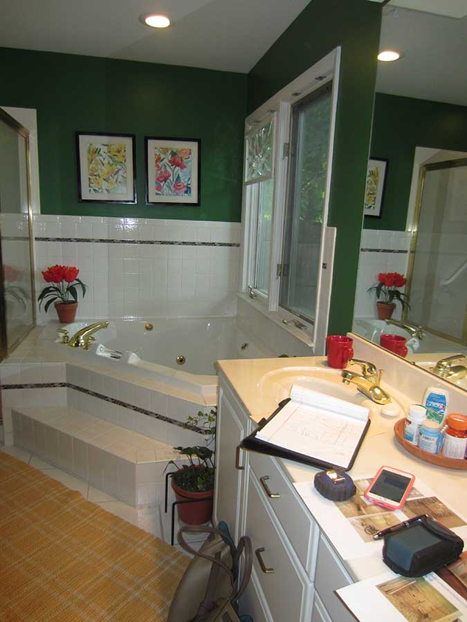 Before - Aging In Place Bathtub Remodel