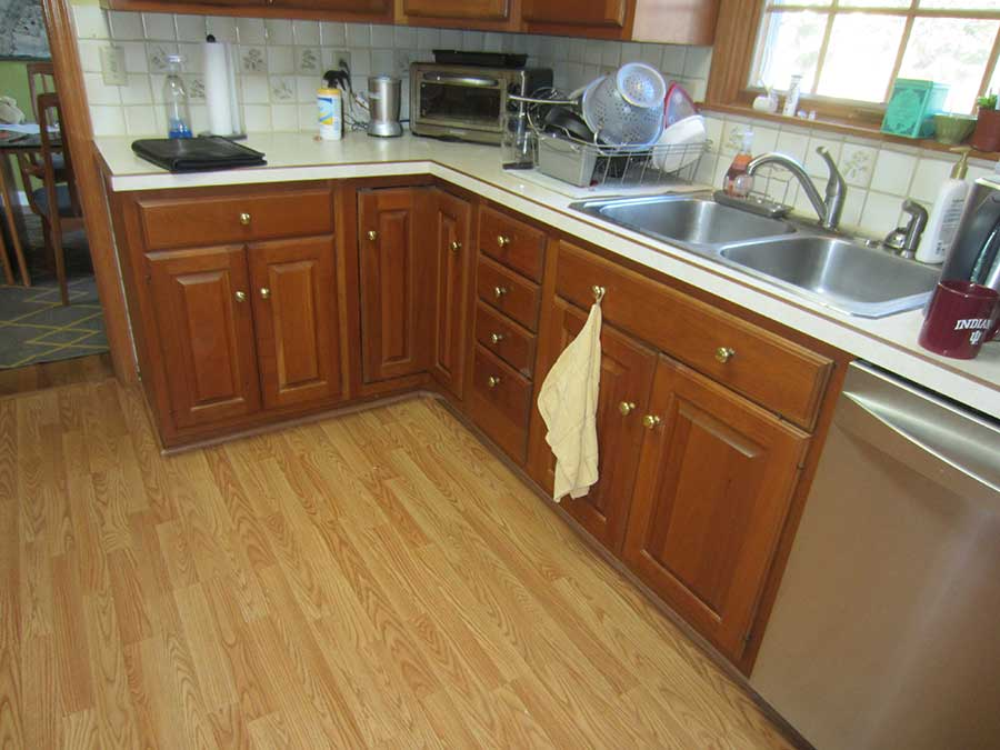 Before Kitchen Cabinet Addition