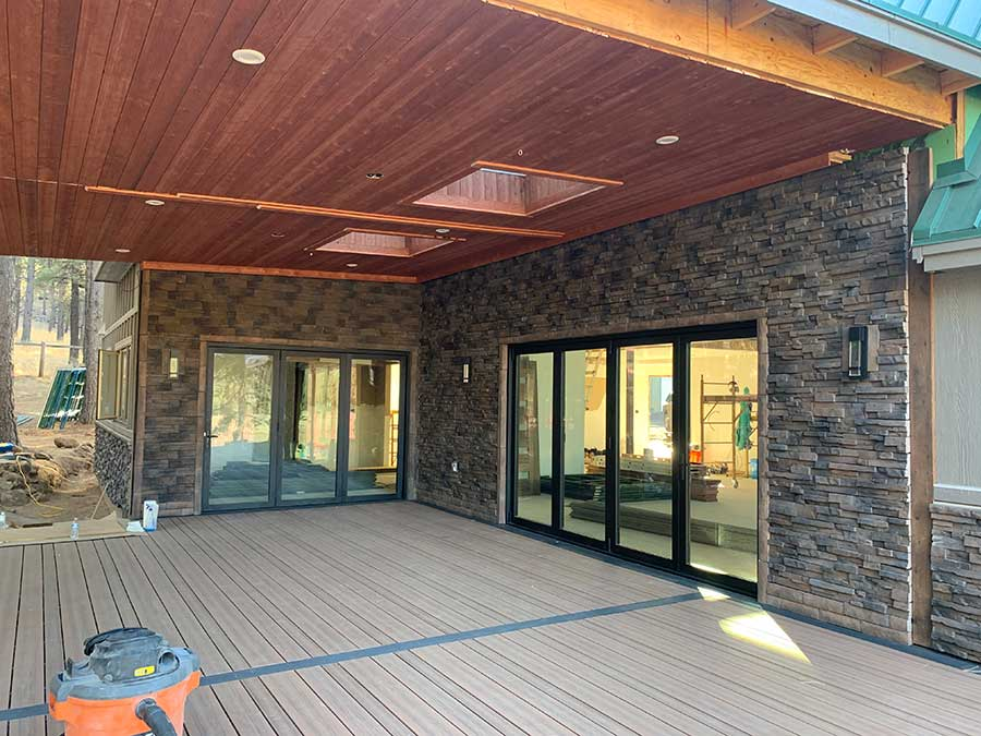 Exterior Covered Deck